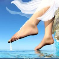 Water Blessing of Feet